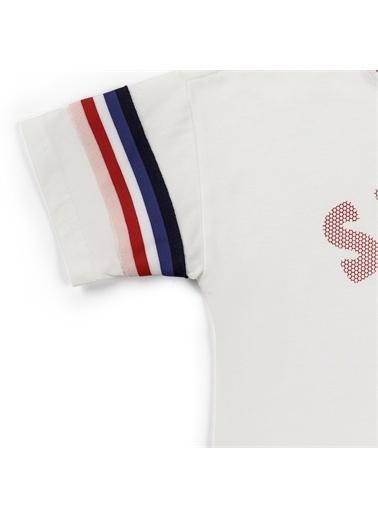 Panço Kız Çocuk T-Shirt 2111GK05001 Beyaz